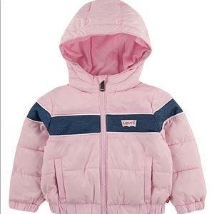Baby girls puffer jacket